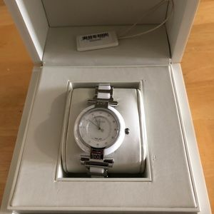 ESCADA — Crystal and Pearl faced watch